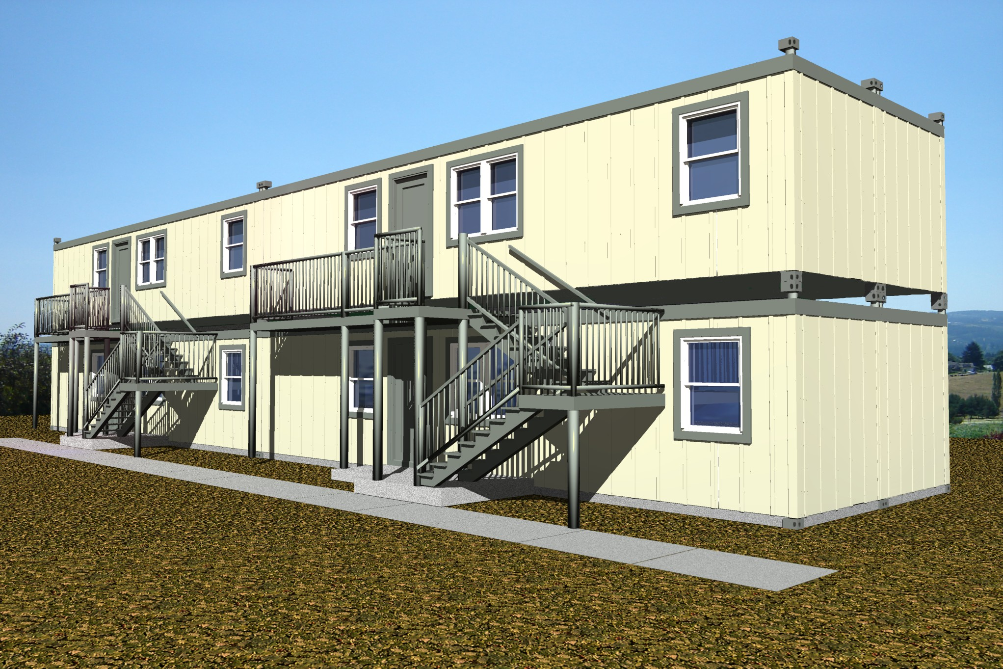 Modular Classroom S : Scif construction builders global technologies