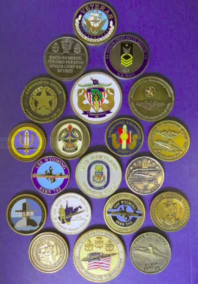 What's the deal with US Military Challenge Coins?